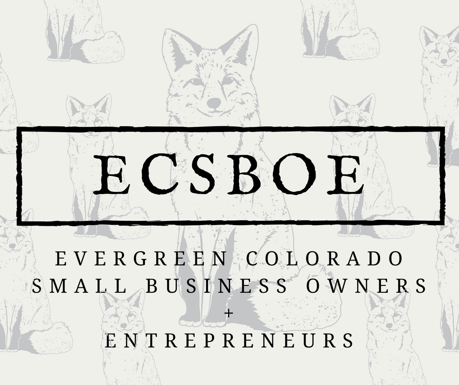 evergreen colorado small business owners entrepreneurs logo